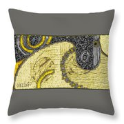Untitled 900 Throw Pillow