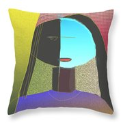 Untitled 904 Throw Pillow