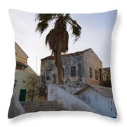 Untitled Buildings Throw Pillow