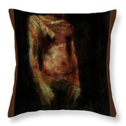 Untitled Figure Throw Pillow