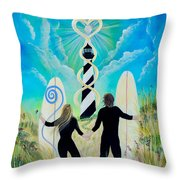Uprising Of Love Hatteras Throw Pillow