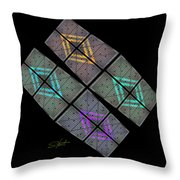 Urban Space Throw Pillow
