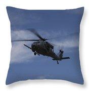 U.s. Air Foce Hh-60g Pave Hawk Throw Pillow