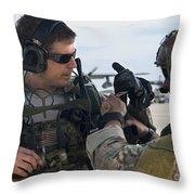 U.s. Air Force Combat Controllers Throw Pillow