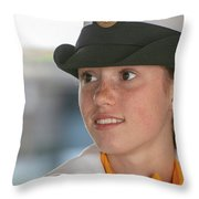 Us Naval Sea Cadet Corps - Gulf Eagle Division, Florida Throw Pillow