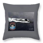 Uss Sea Wolf Throw Pillow