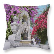 Vacation In Portugal Throw Pillow