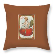 Valentine Design Six Throw Pillow