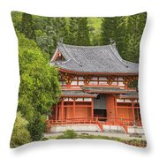 Valley Of The Temples Throw Pillow