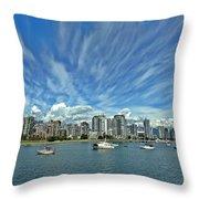 Vancouver British Columbia Throw Pillow