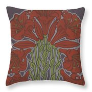 Variation On Our Lady Of Sorrows 236 Throw Pillow