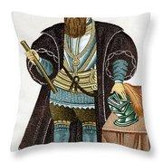 Vasco Da Gama, Portuguese Explorer Throw Pillow