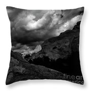 Vasquez Rocks Throw Pillow