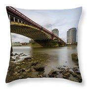 Vauxhall Bridge Throw Pillow