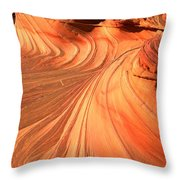 Vermilion Cliffs Dragon Throw Pillow