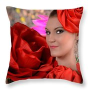 Veronica Nicole  Throw Pillow