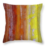 Vertical Interfusion Throw Pillow