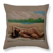 Vespera Sine Arbitris Throw Pillow