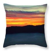 Vibrant Skies  Throw Pillow