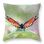 Viceroy Butterfly  Throw Pillow