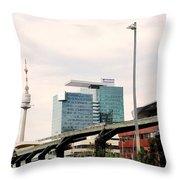 Vienna Modern Throw Pillow