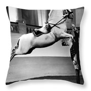 Riding School, Vienna Throw Pillow