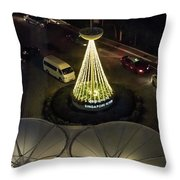 View From Flyer Throw Pillow