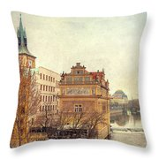View On A River Throw Pillow