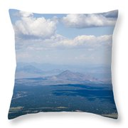 Views From The Pikes Peak Highway Throw Pillow