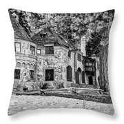 Vikingsholm Castle Lake Tahoe Throw Pillow