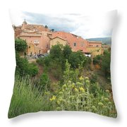 Village Roussillion Throw Pillow