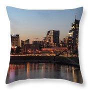 Vilnius City Throw Pillow