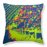 Vineyard Petrovecki Throw Pillow