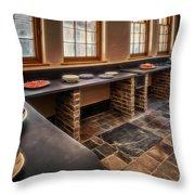 Vintage Kitchen Throw Pillow