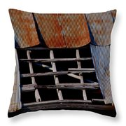 Vintage Skylight Throw Pillow