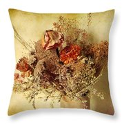Vintage Still Life Throw Pillow