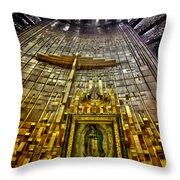 Virgen De Guadalupe 7 Throw Pillow
