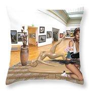 Virtual Exhibition - 33 Throw Pillow