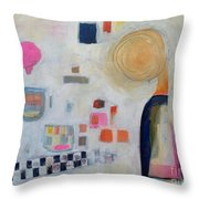 Vision Of Chilhood Throw Pillow