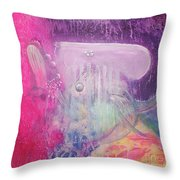 Visions Of Atlantis Throw Pillow