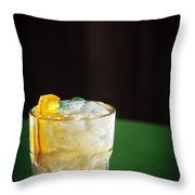 Vodka And Orange Screwdriver Classic Cocktail Drink Throw Pillow