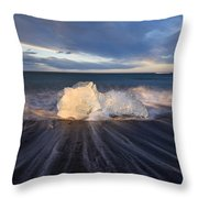 Voices Of Tides Throw Pillow