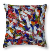 Voisinage D Automne By Rain Man Throw Pillow