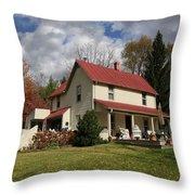 v's House Throw Pillow