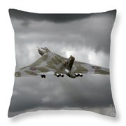 Vulcan To The Sky Throw Pillow