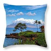 Wailea Point Throw Pillow