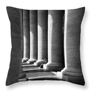 Waiting At St Peters Throw Pillow by Julian Perry