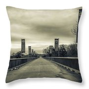 Walkway Over The Hudson Throw Pillow