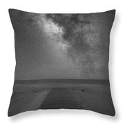 Walkway To The Universe  Throw Pillow