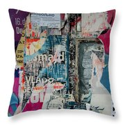 Walls - Favorably Throw Pillow